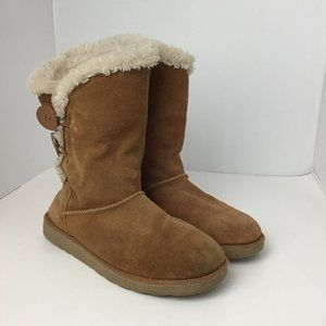 SO Women's Winter Ankle Boots Chestnut size 6.5